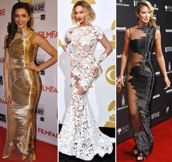 Risque red carpet outfits