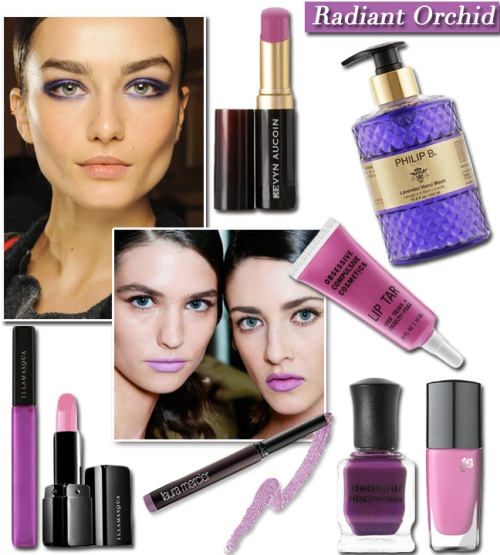 Make up in Radiant Orchid