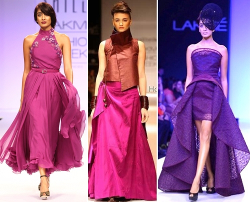 Designer creations in orchid