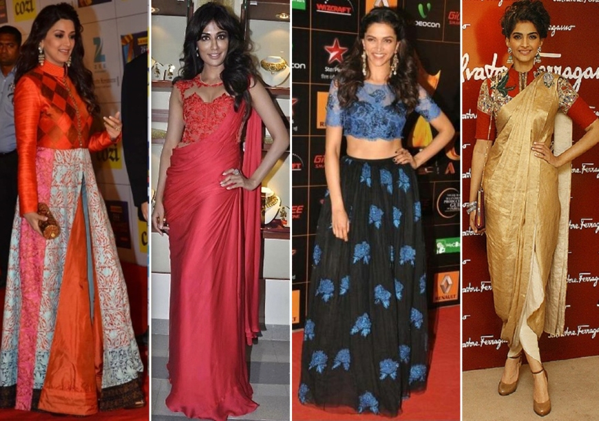 New age Indian silhouettes according to FLW designers
