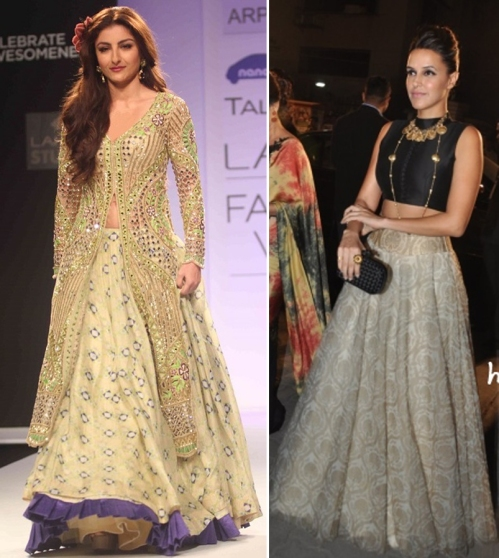 New age Indian silhouettes according to Arpita Mehta