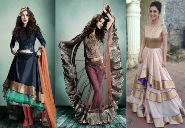 New age Indian silhouettes according to Jade