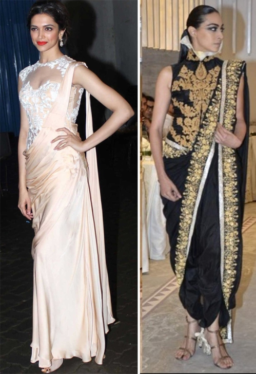New age Indian silhouettes according to Sonaakshi Raaj