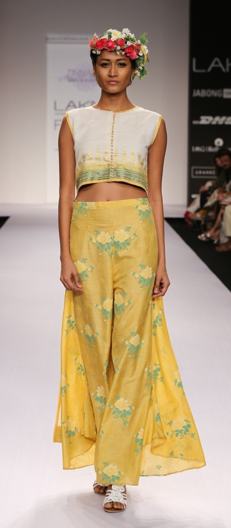 Shruti Sanchet LFW SR14