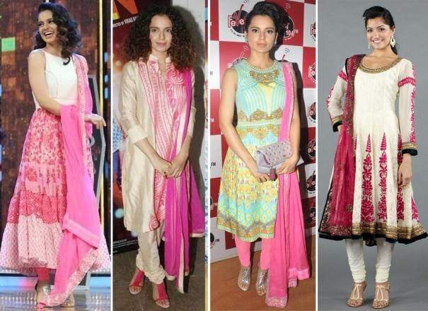 Kangana Ranaut in indian wear