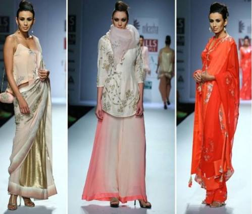 Nikasha at WIFW AW'14