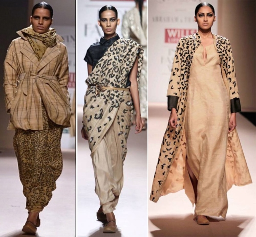 Abraham & Thakore at WIFW AW'14