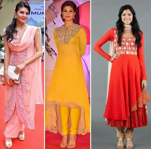 Jacqueline Fernandez wears different cuts