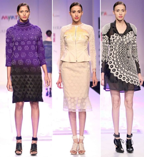 Rahul Mishra at WIFW AW'14