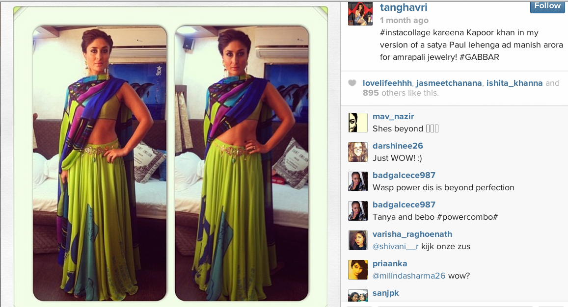 Tanya Ghavri on Instagram
