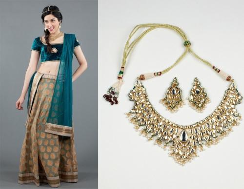 Indian bridesmaid dressing