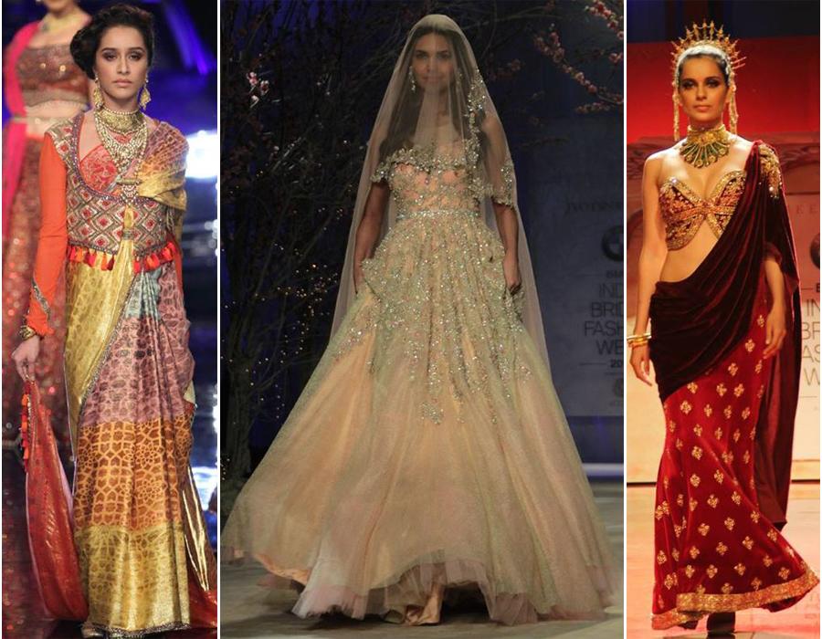Tarun Tahiliani At India Bridal Fashion Week 2014 The Luxe Report