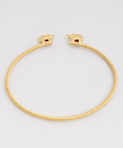 j-142_gold_plated_elephant_bracelet_by_amrapali