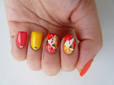 summer DIY nails