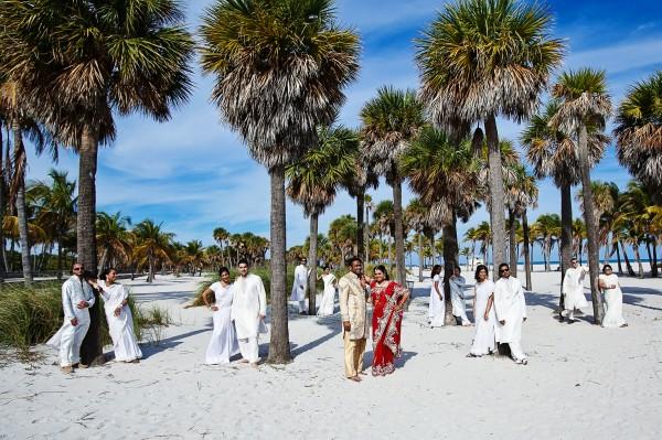 Destination wedding dress up